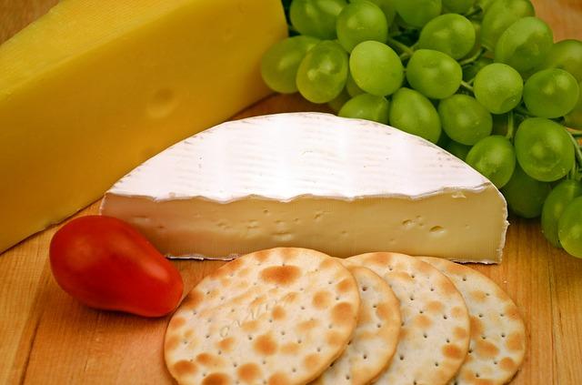 → craquelins au fromage fondant et mélange durandonneur