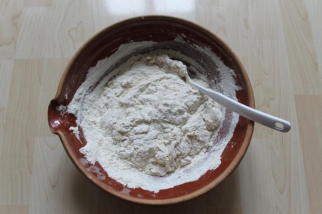 → préparation sèche de base pour crêpes auxbleuets