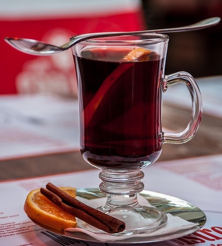 → vin chaud orange-cannelle