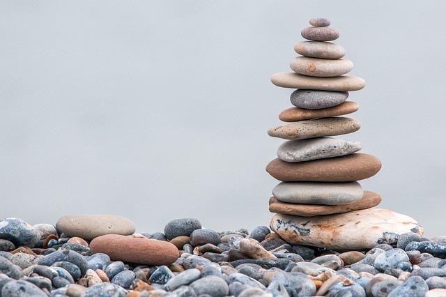méli-mélo : équilibriste depierre