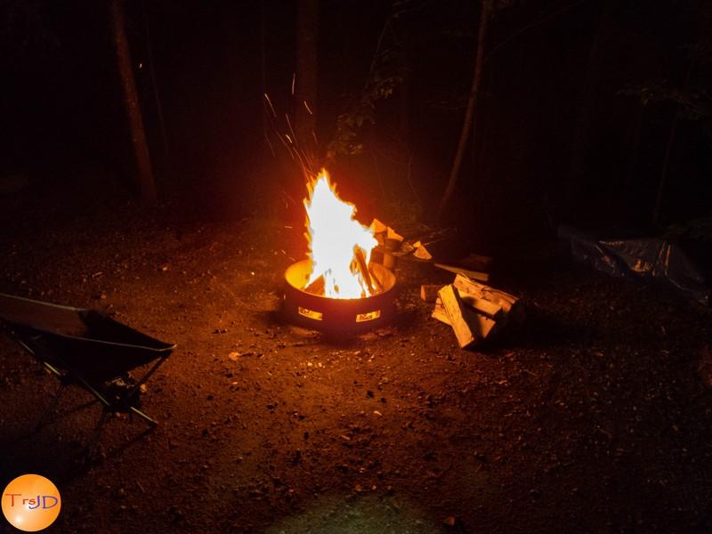 camping/photos : 2ième bivouac au parc national de la Mauricie (7-10 août2018)