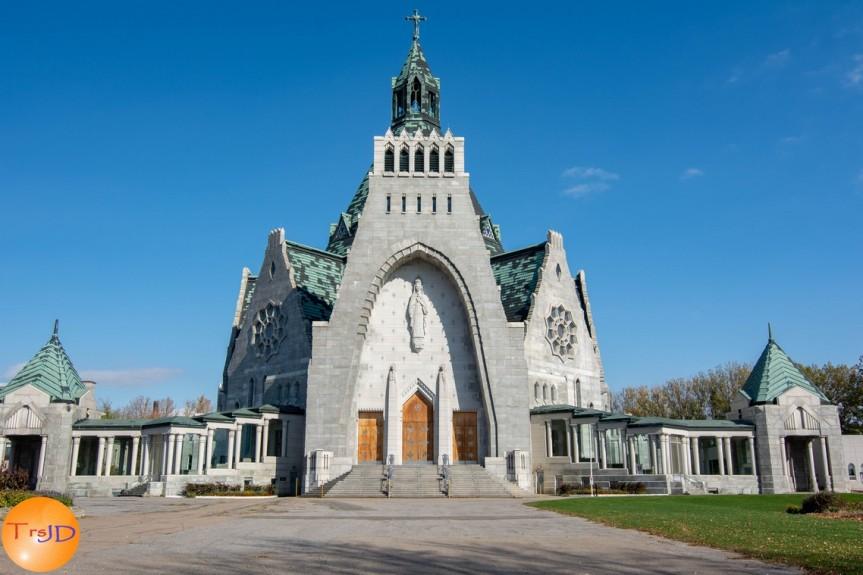 photos : Sanctuaire Notre-Dame-du-Cap (fin octobre2018)
