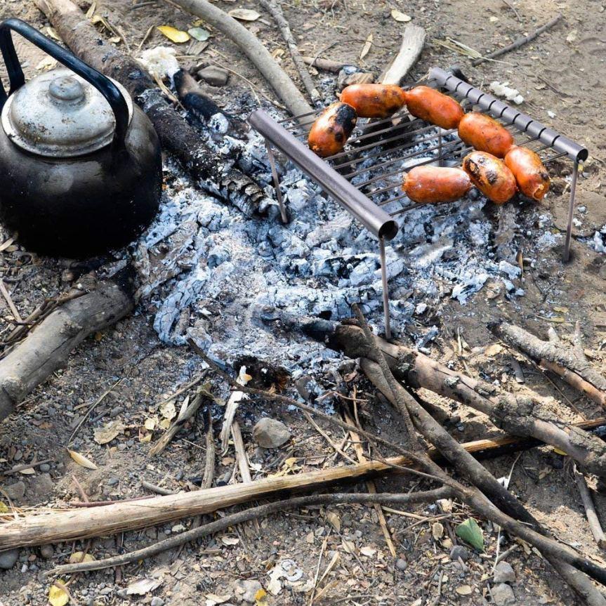 équipement : grille à BBQdémontable