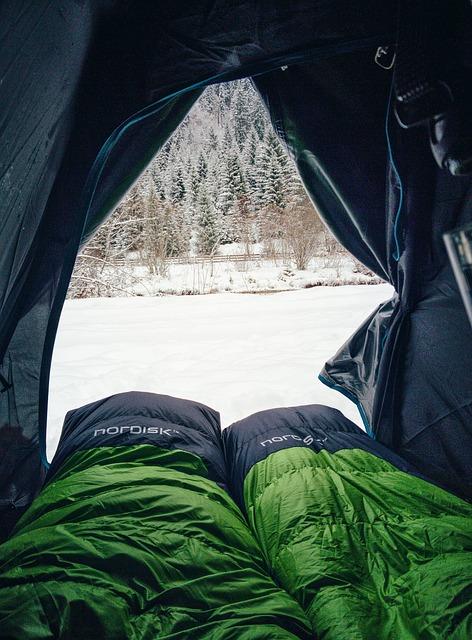 camping : des conseils pourl'hiver